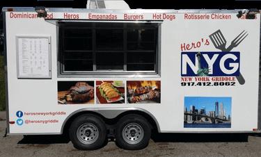 Hero's New York Griddle Kansas City Food Trucks
