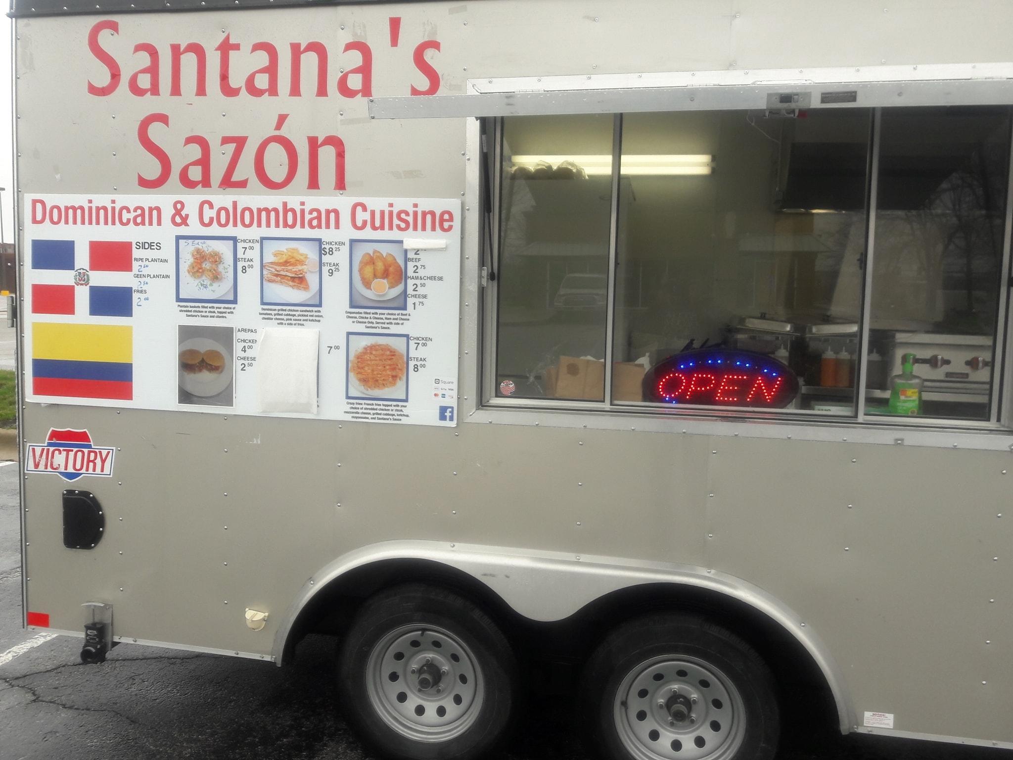 Santana's Sazón Kansas City Food Trucks