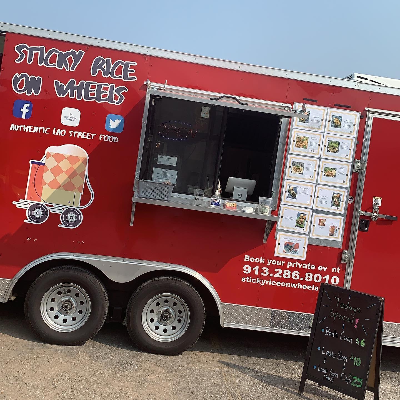 Sticky Rice On Wheels Kansas City Food Trucks