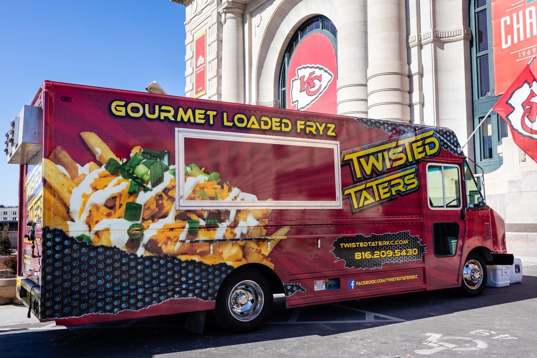 Twisted Taters Kansas City Food Truck