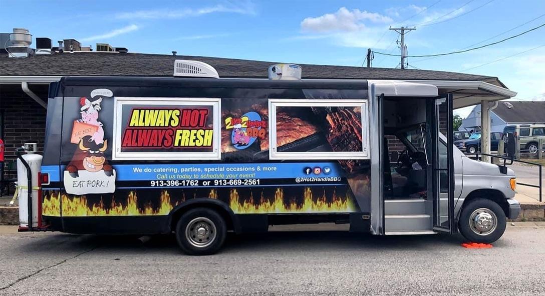 Kansas City Food Truck Association 2Hot2Handle BBQ Food Truck