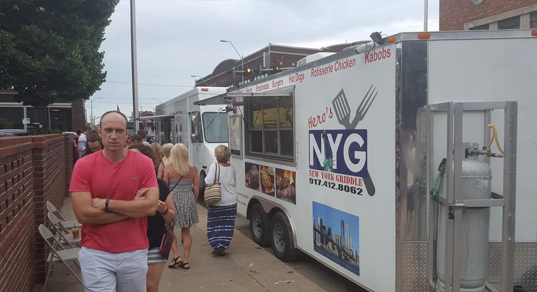 Kansas City Food Truck Association Hero's New York Griddle Food Truck